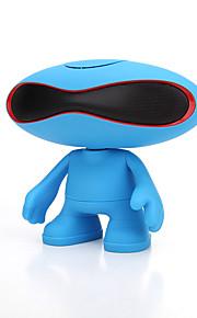 미니 휴대용 LED 라이트 지원 FM 블루투스 3.0 3.5mm AUX 무선 블루투스 스피커 밝은 블루