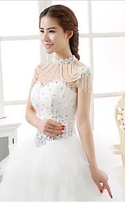 Dame Kropssmykker Krops Kæde / mavekæde Mode Vintage Perle Rhinsten Hjerteformet Smykker For Bryllup Fest Forlovelse
