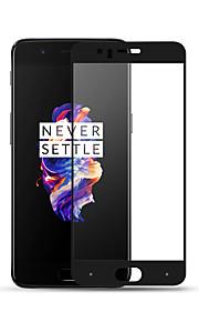 Protector de pantalla OnePlus para One Plus 5 Vidrio Templado 1 pieza Protector de Pantalla, Integral Anti-Arañazos Alta definición (HD)