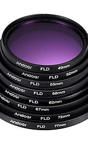 72mm 77mm Farvekonverteringsfilter Professionelt niveau