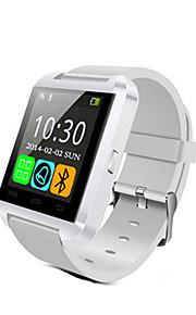 u8 smartwatch bluetooth responde e disca as funções do alarme do ladrão do passômetro do telefone