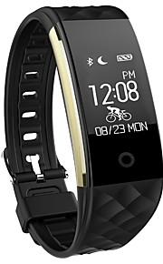 أسورة ذكية iOS Android GPS شاشة لمس رصد معدل ضربات القلب مقاوم للماء رمادي داكن عداد الخطى التحكم بالاعلام الجامعة، كاميرا ساعة منبهة لون