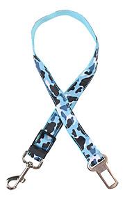 강아지 하니스 안전 캐모플라지 색상 테릴렌 옐로우 레드 그린 블루 핑크