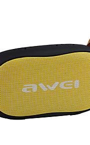 AWEI y900 Ricordo basso della batteria V3.0 Altoparlante portatile Cassa Nero Rosa Perla Cremisi