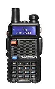 BAOFENG Walkie Talkie Handheld Low Battery Warning Emergency Alarm PC Software Programmable Power Saving Function Voice Prompt VOX