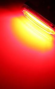 אורות קצה הבר / פנס אחורי לאופניים / אורות בטיחות LED פנסי אופניים - רכיבת אופניים עמיד במים, נטענת, גודל קטן סוללת ליתיום 50 lm סוללה מחנאות / צעידות / טיולי מערות / שימוש יומיומי / רכיבה על אופניים