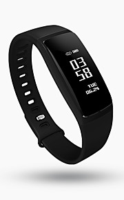 V07 Smartwatch Android iOS Bluetooth Sports Waterproof Heart Rate Monitor Blood Pressure Measurement Touch Screen Sleep Tracker Find My Device / Calories Burned / Long Standby / 64MB / Camera