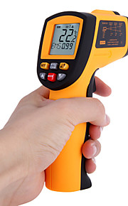 Non-Contact Laser IR Thermometer -50-700℃ w Alarm  MAX MIN AVG DIF