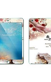 화면 보호기 용 Apple iPad Mini 3/2/1 안정된 유리 앞면&뒷면 화면 보호 제품 스크래치 방지 지문 방지 9H강화 2.5D커브 엣지 패턴
