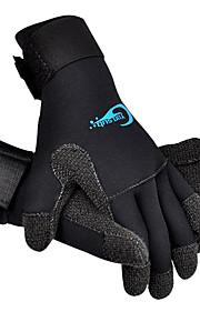 Diving Gloves Lycra Full-finger Gloves Wearproof Shockproof Diving Unisex YON SUB