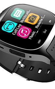 bluetooth smart watch novo m26 impermeável smartwatch pedômetro anti-perdido musica ios telefone android pk a1 dz09