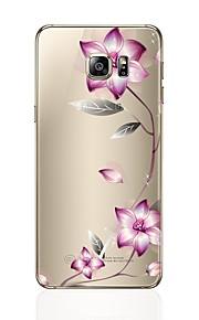 Custodia Per Samsung Galaxy S8 Plus S8 Transparente Fantasia/disegno Custodia posteriore Fiore decorativo Morbido TPU per S8 Plus S8 S7