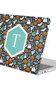 MacBook Case for MacBook Air 13-inch Macbook Air 11-inch MacBook Pro 13-inch with Retina display Cartoon Skull Halloween TPU Material
