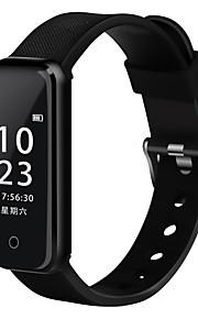 Smart armband IP67 Brända Kalorier Stegräknare Träningslogg Hälsovård Alarmklocka Blodtrycksmått Kamerakontroll Lätt och bekvämt Banbana