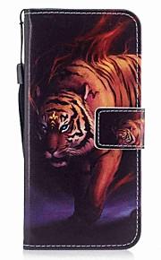 Custodia Per Samsung Galaxy S8 Plus S8 A portafoglio Porta-carte di credito Con chiusura magnetica Fantasia/disegno A calamita Integrale