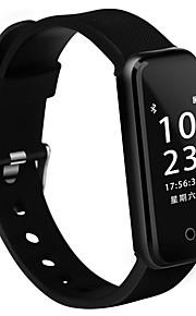 Smart armbånd IP67 Brændte kalorier Skridttællere Træningslog Sundhedspleje Vækkeur Blodtryksmåling Kamerakontrol Let og bekvemt Banebane