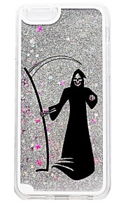 For iPhone 7 iPhone 7 Plus Case Cover Flowing Liquid Pattern Back Cover Case Glitter Shine Halloween Hard PC for Apple iPhone 7 Plus