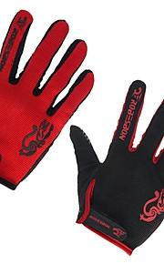 Sports Gloves Men's Women's Cycling Gloves Spring Summer Bike Gloves Breathable Full-finger Gloves Lycra Cycling Gloves/Bike Gloves