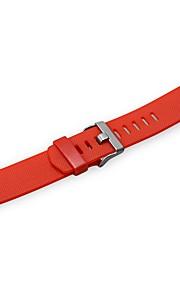 pulseira de elastômero de substituição para carga de fitbit 2 -red