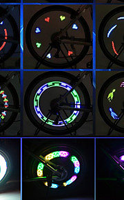Stripelys LED LED Sykling Bærbar Lettvekt AAA Lumens Batteri Sykling