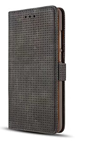 Etui Til Huawei Lommebok Kortholder med stativ Flipp Heldekkende Helfarge Hard Kunstlær til Huawei Mate 9