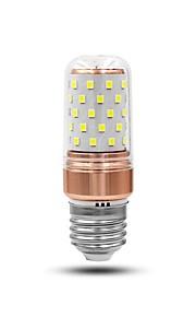 6W E27 LED-kornpærer 60 leds Dekorativ Hvit *lm 6000-6500K AC 85-265V