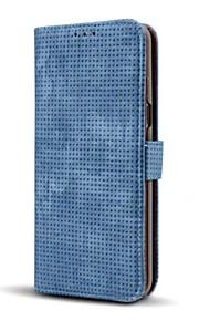 Funda Para Samsung Galaxy Cartera Soporte de Coche con Soporte Flip Cuerpo Entero Color sólido Dura Cuero Sintético para S8 S8 Plus S7