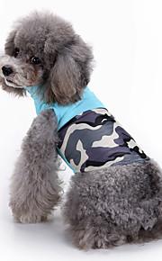 Hund Weste Hundekleidung Lässig/Alltäglich Druck Blau Rosa Kostüm Für Haustiere