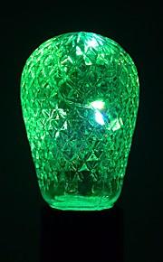 1 stk 1W E27 LED-globepærer 12 leds SMD Dekorativ Varm hvit Kjølig hvit Blå Grønn 100-200lm 2800-3200/6000-6500