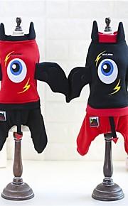 Koira Asut Takit College Koiran vaatteet Juhla Cosplay Halloween Joulu Sarjakuva Musta Punainen