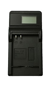 Ismartdigi 4L LCD USB Camera Battery Charger for Canon NB-4L 6L 8L IXUS 100 110 115 120 130IS 117 220 230HS - Black