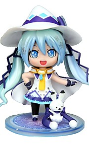 Anime Action Figures Inspired by Vocaloid Snow Miku CM Model Toys Doll Toy