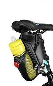 Sac de Vélo Pochette pour Cadre Etanche Zip étanche Sac de Cyclisme Fibre de carbone Sacoche de Vélo Cyclisme Cyclisme