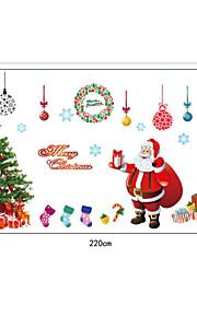 Blommig/Botanisk Jul Landskap Väggklistermärken Väggstickers Flygplan Väggstickers i 3D Dekrativa Väggstickers Bröllopstickers,Papper