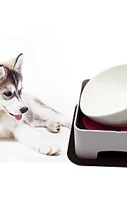 Gato Cachorro Comedouro Animais de Estimação Tigelas e alimentação de animais Retratável