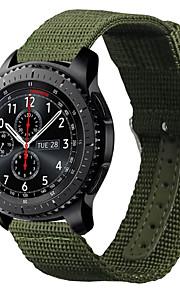 Tecido Pulseiras de Relógio Alça Verde 17cm / 6,69 polegadas 2cm / 0.8 Polegadas