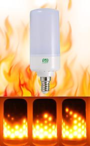 ywxlight® 1pcs e26 e14 b22 ledet flimmer flammeffekt ledet brannpære brennende ak 85-265v