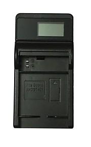 Ismartdigi 401 LCD USB Camera Battery Charger for Gopro Hero AHDBT-401 Battery - Black