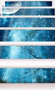 Botanisch Romantik Landschaft Wand-Sticker Geh?use Flugzeug-Wand Sticker 3D Wand Sticker Dekorative Wand Sticker Hochzeits Sticker,Papier