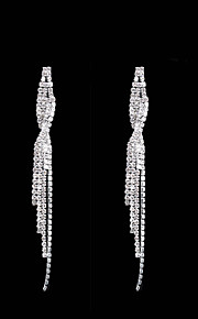 Women's Drop Earrings Rhinestone Classic Elegant Rhinestone Line Jewelry For Party Evening Party