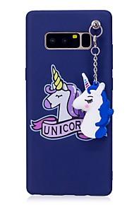 케이스 제품 Samsung Galaxy Note 8 IMD 패턴 DIY 뒷면 커버 유니콘 소프트 TPU 용 Note 8