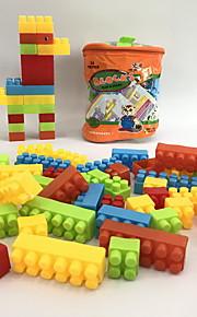 GDS-set Byggklossar Leksaker Djur Djur Form tecknad Shaped Djur Familj Djur Handväskor Tecknade leksaker GDS (Gör det själv) Tecknad