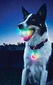 Hund Hundleksak Husdjursleksaker Interaktivt LED-belysning Silikon För husdjur
