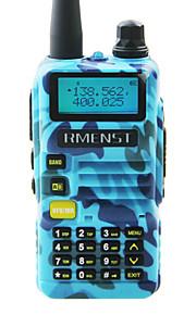Rmenst UV-R60 Update Walkie-Talkie  Long Range Radio UHF VHF Dual Band Long Standby Dual band 2 Way Radio Dual Standby Dual Display