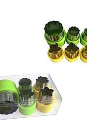 Plätzchen-Werkzeuge Neuheit Plätzchen Edelstahl Überhitzungsschutz
