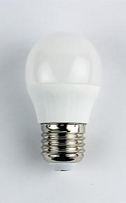 1pc 4W E27 LED-globepærer G45 6 leds SMD 3528 Varm hvit 310lm 3000K AC 110-240V
