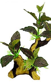 Aquarium Dekoration Wasserpflanze Stoff