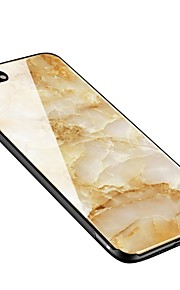 Case For Apple iPhone X iPhone 8 Plus Pattern Back Cover Marble Soft Tempered Glass for iPhone X iPhone 8 Plus iPhone 8 iPhone 7 Plus