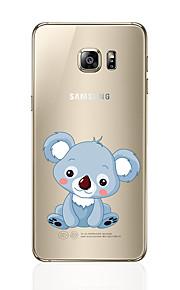 Кейс для Назначение SSamsung Galaxy S8 Plus S8 С узором Задняя крышка Животное Мягкий TPU для S8 S8 Plus S7 edge S7 S6 edge plus S6 edge