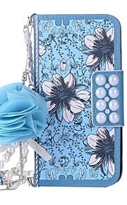 Funda Para Apple iPhone X iPhone 8 Plus Cartera Soporte de Coche Flip Diseños Cuerpo Entero Flor Dura Cuero Sintético para iPhone X